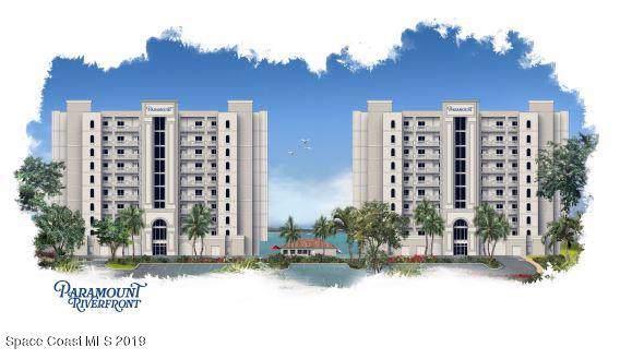 1435 S Harbor City Boulevard #702, Melbourne, FL 32901 (MLS #852537) :: Blue Marlin Real Estate