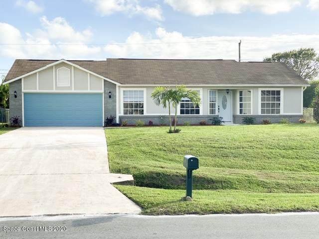1020 Beacon Street NW, Palm Bay, FL 32907 (MLS #889095) :: Blue Marlin Real Estate