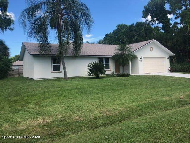 1370 San Cortez Avenue NE, Palm Bay, FL 32907 (MLS #875259) :: Blue Marlin Real Estate