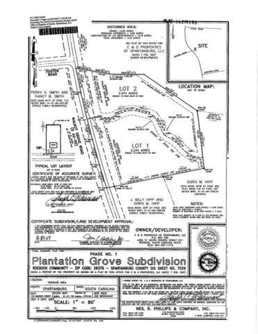 429 Walnut Grove Road Lot 1, Roebuck, SC 29376 (#245876) :: Century 21 Blackwell & Co. Realty, Inc.
