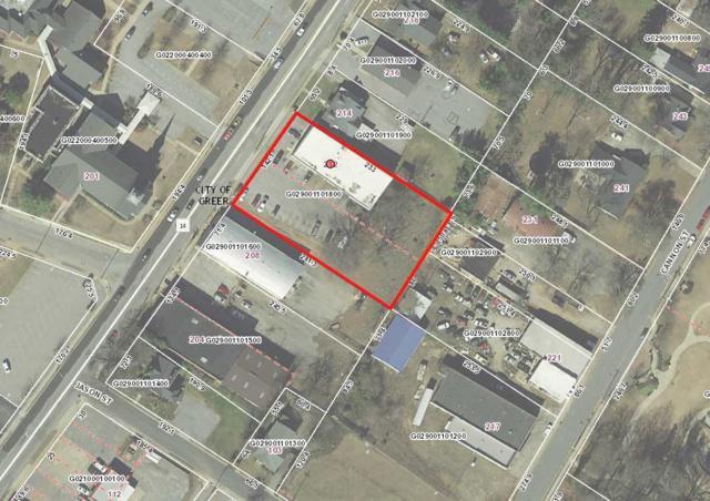 212 N Main St, Greer, SC 29650 (#256603) :: Century 21 Blackwell & Co. Realty, Inc.