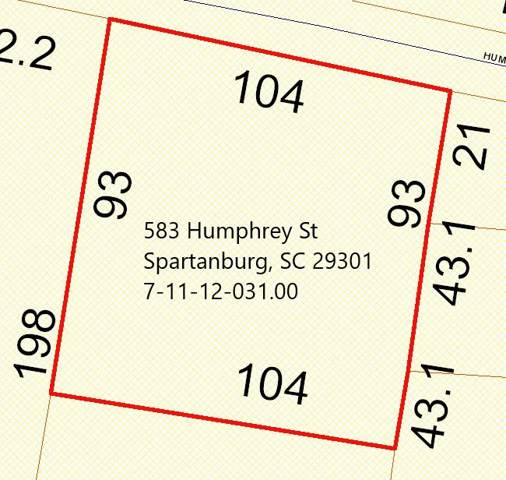 583 Humphrey Street, Spartanburg, SC 29301 (MLS #267049) :: Prime Realty
