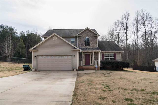 136 Fagans Creek Drive, Inman, SC 29349 (#268370) :: Connie Rice and Partners