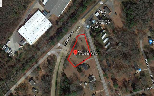 4101 S Chruch St. Ext., Roebuck, SC 29376 (MLS #277031) :: Prime Realty