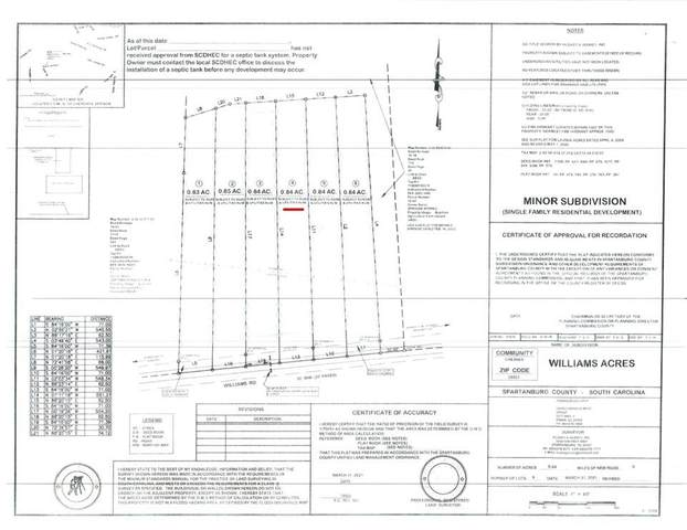 217 Williams Rd Lot 4, Chesnee, SC 29323 (#279738) :: Rupesh Patel Home Selling Team | eXp Realty