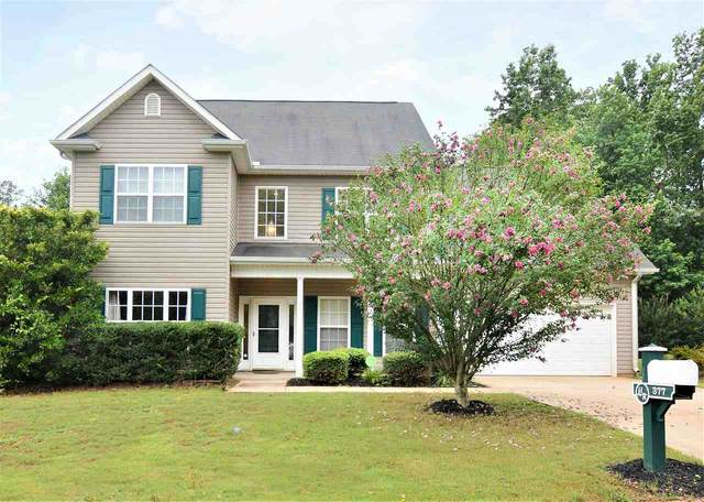 377 Slate Drive, Boiling Springs, SC 29316 (#272503) :: Century 21 Blackwell & Co. Realty, Inc.
