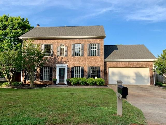 414 Rosehaven Way, Greer, SC 29651 (#261452) :: Century 21 Blackwell & Co. Realty, Inc.