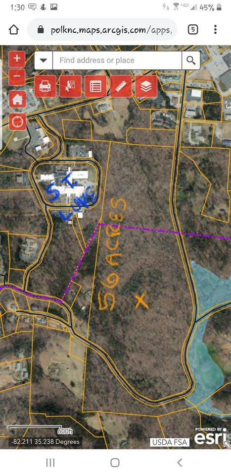 56 Acres Shuford Rd., Columbus, NC 28722 (#271568) :: Century 21 Blackwell & Co. Realty, Inc.