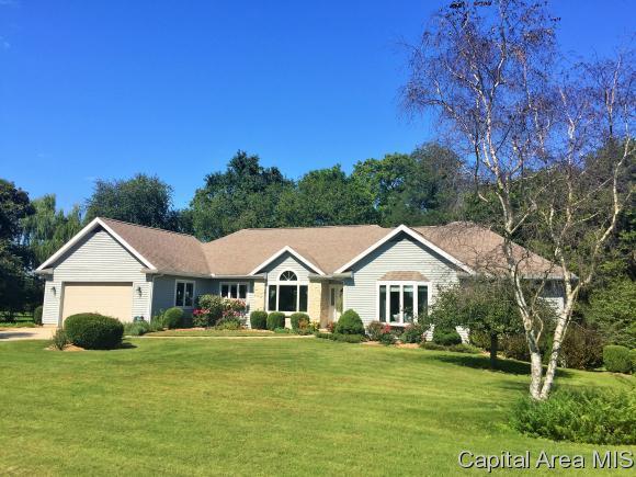 16555 Prairie Lane, Petersburg, IL 62675 (MLS #171205) :: Killebrew & Co Real Estate Team
