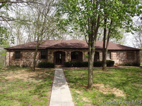 11064 Robin Ln, Athens, IL 62613 (MLS #172434) :: Killebrew & Co Real Estate Team