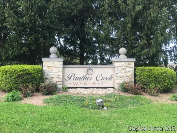 Lot 108 Panther Creek West, Springfield, IL 62711 (MLS #172567) :: Killebrew & Co Real Estate Team