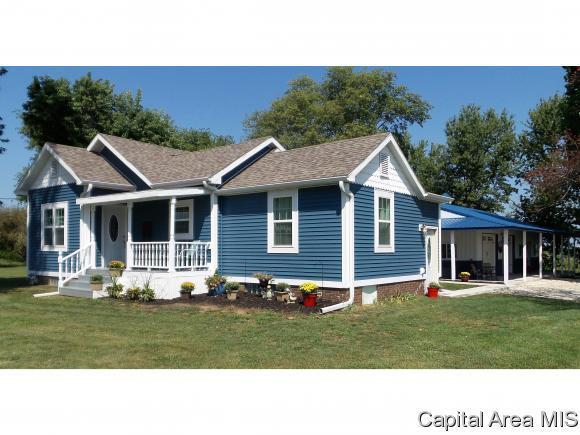 1525 State Route 167, Victoria, IL 61485 (MLS #175648) :: Killebrew & Co Real Estate Team