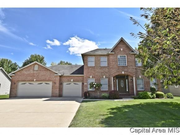 3512 Sundance Dr, Springfield, IL 62711 (MLS #175655) :: Killebrew & Co Real Estate Team