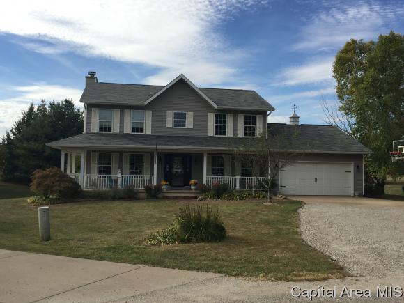 19220 Wisteria Ln, Petersburg, IL 62675 (MLS #176668) :: Killebrew & Co Real Estate Team