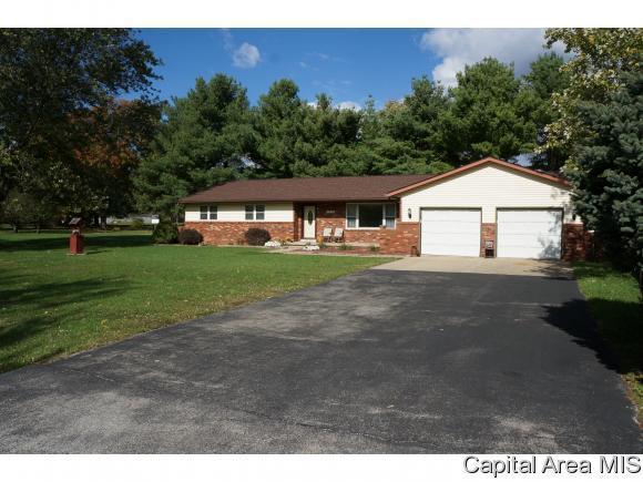 1203 W Glenarm Rd, Glenarm, IL 62536 (MLS #177154) :: Killebrew & Co Real Estate Team