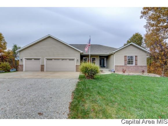 22709 White Oaks Ln, Athens, IL 62613 (MLS #177375) :: Killebrew & Co Real Estate Team