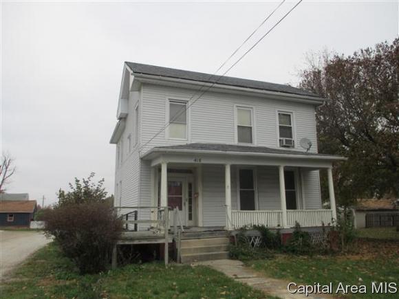 418 E Douglas Ave, Jacksonville, IL 62650 (MLS #177457) :: Killebrew & Co Real Estate Team