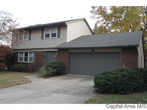 1504 Denison Dr, Springfield, IL 62704 (MLS #177497) :: Killebrew & Co Real Estate Team