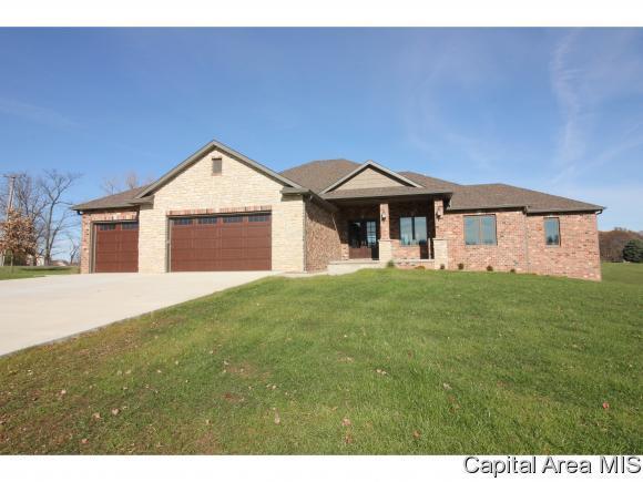 817 Prairielake Dr., Sherman, IL 62684 (MLS #177609) :: Killebrew & Co Real Estate Team