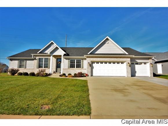 1401 Lake Pointe Ct, Springfield, IL 62712 (MLS #177723) :: Killebrew & Co Real Estate Team
