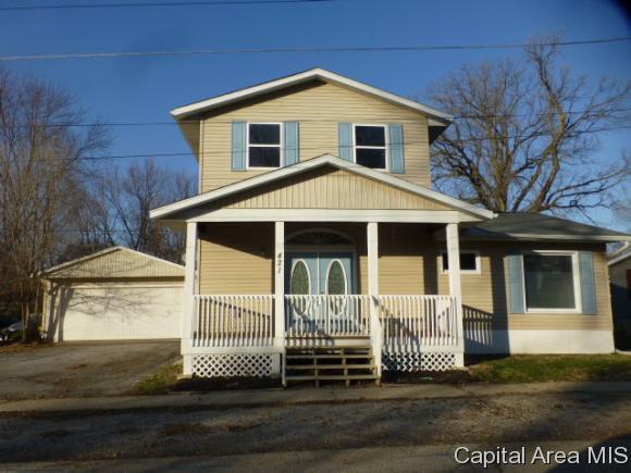 421 E Adams Street, Riverton, IL 62561 (MLS #177867) :: Killebrew & Co Real Estate Team