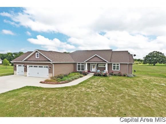 9250 N. State Route 124, Sherman, IL 62684 (MLS #180137) :: Killebrew & Co Real Estate Team
