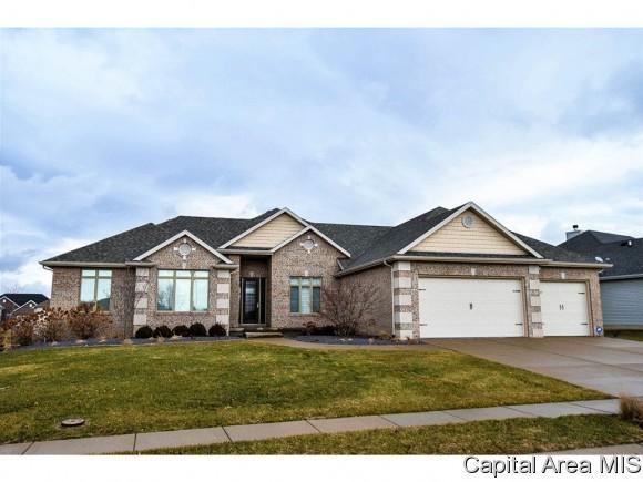 6105 Greenwalt Dr, Springfield, IL 62711 (MLS #180181) :: Killebrew & Co Real Estate Team