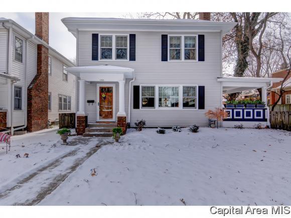 1024 W Vine St, Springfield, IL 62704 (MLS #180271) :: Killebrew & Co Real Estate Team