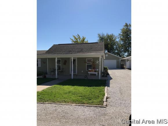 308 Masters St, Murrayville, IL 62668 (MLS #180432) :: Killebrew & Co Real Estate Team
