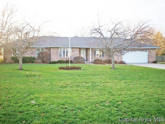 9585 S Main St, Chatham, IL 62629 (MLS #180479) :: Killebrew & Co Real Estate Team