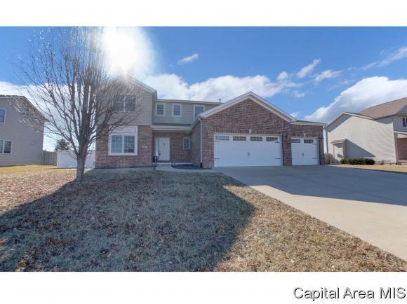 900 Deerfield Rd, Chatham, IL 62629 (MLS #180602) :: Killebrew & Co Real Estate Team