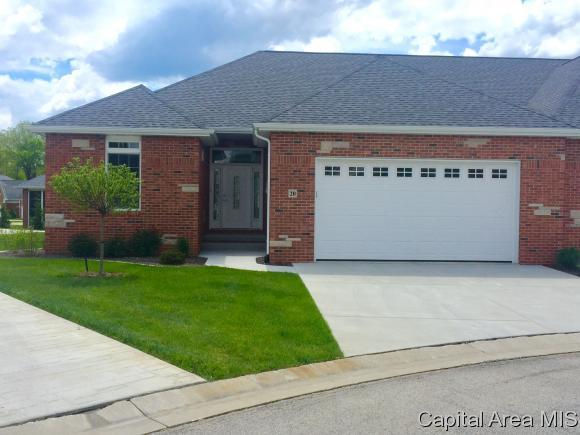 20 Mashie Court, Springfield, IL 62707 (MLS #180620) :: Killebrew & Co Real Estate Team