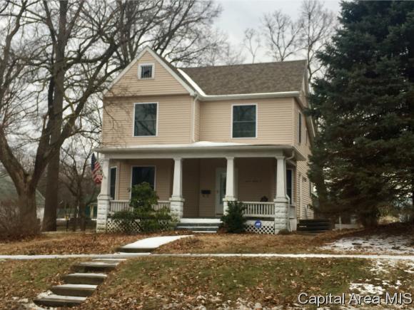 214 E Main St, Rochester, IL 62563 (MLS #180808) :: Killebrew & Co Real Estate Team