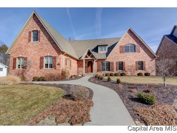 58 Oakmont Dr, Springfield, IL 62704 (MLS #180901) :: Killebrew & Co Real Estate Team