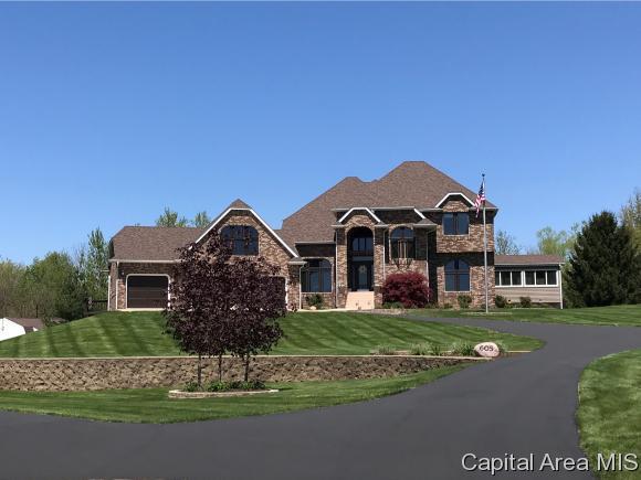605 W Hannah, Sherman, IL 62684 (MLS #180903) :: Killebrew & Co Real Estate Team