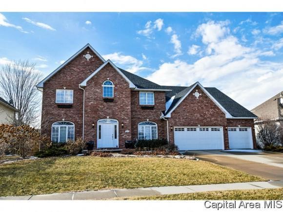 2613 Tennyson Dr, Springfield, IL 62711 (MLS #180918) :: Killebrew & Co Real Estate Team