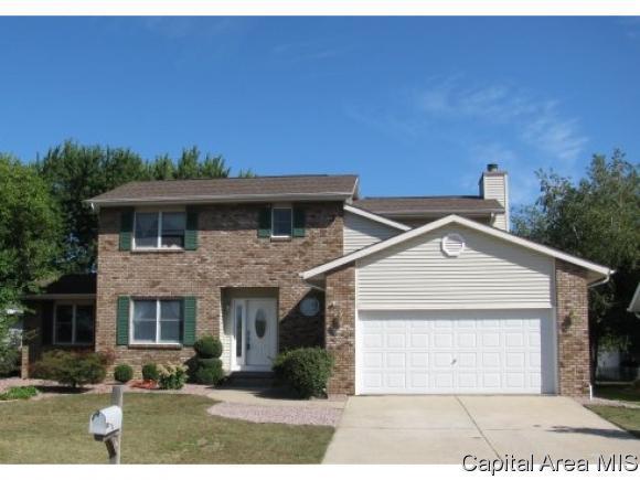 2209 Stockton Dr, Springfield, IL 62703 (MLS #180986) :: Killebrew & Co Real Estate Team