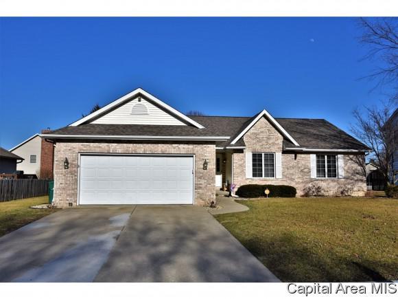 2004 Burgess Dr, Springfield, IL 62711 (MLS #181029) :: Killebrew & Co Real Estate Team
