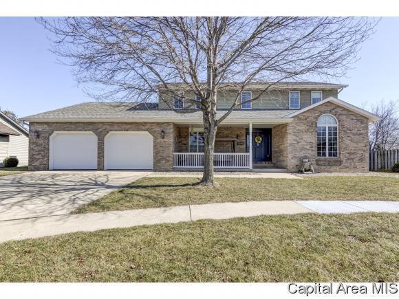 2408 Silver Mill Ct, Springfield, IL 62704 (MLS #181086) :: Killebrew & Co Real Estate Team