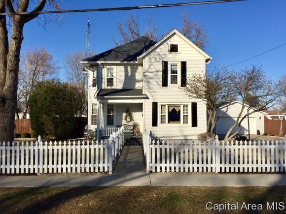 229 W Dean St., Virden, IL 62690 (MLS #181112) :: Killebrew & Co Real Estate Team