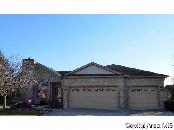 3308 Panther Creek Dr, Springfield, IL 62711 (MLS #181191) :: Killebrew & Co Real Estate Team