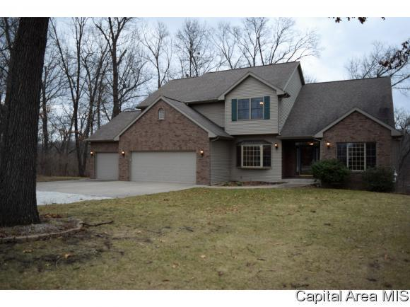 107 Seven Oaks Dr, Jacksonville, IL 62650 (MLS #181282) :: Killebrew & Co Real Estate Team