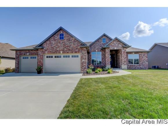 3604 Crystal Spring Drive, Springfield, IL 62711 (MLS #181321) :: Killebrew & Co Real Estate Team