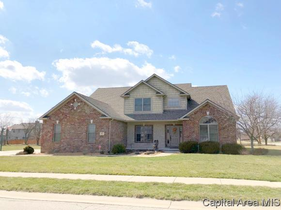 205 Ramblewood, Chatham, IL 62629 (MLS #181398) :: Killebrew & Co Real Estate Team