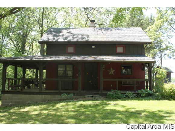 272 Big Valley Road, Virginia, IL 62691 (MLS #181631) :: Killebrew & Co Real Estate Team