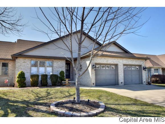1613 Briarcreek, Springfield, IL 62711 (MLS #181688) :: Killebrew & Co Real Estate Team