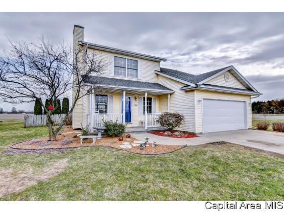 445 Pine View Dr, Auburn, IL 62615 (MLS #181698) :: Killebrew & Co Real Estate Team
