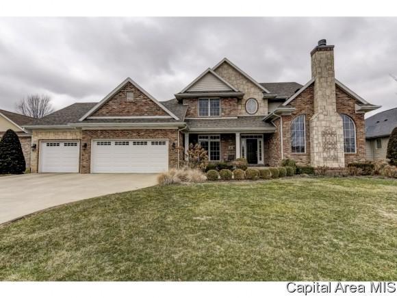 2301 Amber Ct, Springfield, IL 62704 (MLS #181809) :: Killebrew & Co Real Estate Team