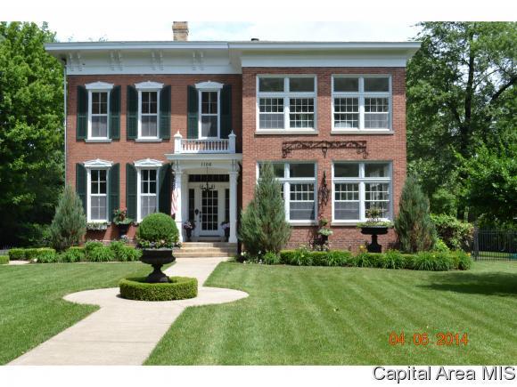 1106 West State Street, Jacksonville, IL 62650 (MLS #182100) :: Killebrew & Co Real Estate Team