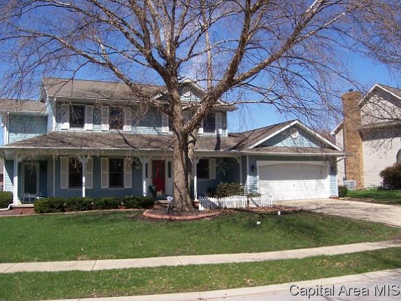 1717 Bent Oak Dr., Springfield, IL 62711 (MLS #182214) :: Killebrew & Co Real Estate Team